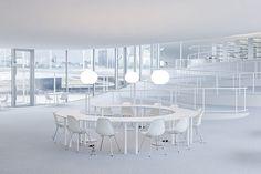 Rolex Learning Center / EPFL | Lausanne, Switzerland | SANAA | photo by Iwan Baan