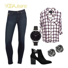 Outfit of the week   Yoga Jeans