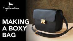 Making Bag :  Boxy Bag #LeatherAddict EP29