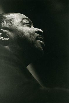 Oscar Peterson, Jazz Pianist and Composer, Paris 1961 - photo by Jeanloup Sieff.