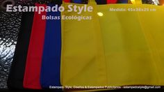 Necesitas Bolsas Ecológicas? Estampado Style, Diseños & Estampados Publicitarios. #EstampadoStyle #Publicidad #BolsasEcológicas www.facebook.com/EstampadoStyle