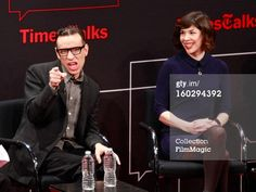 'Portlandia' co-creators/co-writers Fred Armisen and Carrie Brownstein attend New York Times TimesTalks Presents: 'Portlandia'  at TheTimesCenter on January 28, 2013 in New York City.  (Photo by Charles Eshelman/FilmMagic)