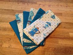 """Double sided napkins 17"""" raw cut made for Sheila's bday"""