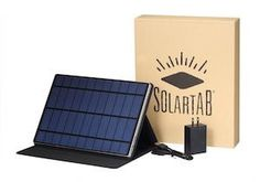 Solartab Solar Charger With Build In Battery.