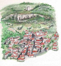 Habitat Troglodytique, Monuments, Saint Maximin, Chateau Medieval, Site Archéologique, Clermont, Saint Jean, City Photo, Auvergne