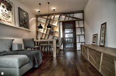 Mieszkanie prywatne - zdjęcie od Pracownia Kaffka - Salon - Styl Nowoczesny - Pracownia Kaffka