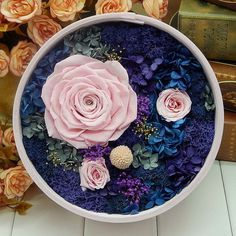 Preserved Real Rose Flowers Fresh Dried by sunnyfashionstore