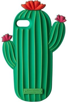 Kate Spade New York - Silicone Cactus Phone Case for iPhone 7 Cell Phone Case