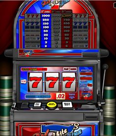 The Red White Blue 7s slot game is the only patriotic game that you can play when you bleed the colors of the American flag.