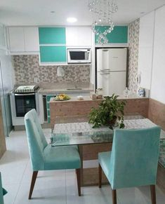 Small Modern Kitchen ,Modern Small Kitchen Design ,Kitchen Island Ideas for Small Kitchens ,Small Kitchen Decor ,Kitchen Ideas for Small Spaces kitchen minicocinas 6 Modern Small Kitchen Ideas That Will Give a Big Impact on Your Daily Mood - Houseminds Small Modern Kitchens, Small Space Kitchen, Modern Spaces, Cool Kitchens, Kitchen Modern, Kitchen Ideas For Small Spaces Design, Modern Condo, Nice Kitchen, Smart Kitchen