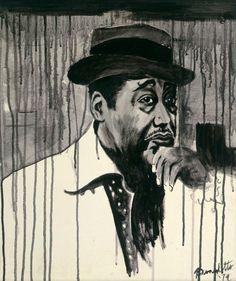 Duke Ellington Black Painting