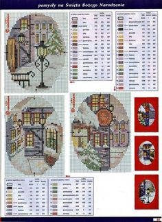 Brilliant Cross Stitch Embroidery Tips Ideas. Mesmerizing Cross Stitch Embroidery Tips Ideas. Cross Stitch House, Xmas Cross Stitch, Cross Stitch Cards, Cross Stitching, Cross Stitch Embroidery, Cross Stitch Christmas Ornaments, Christmas Cross, Christmas Scenes, Christmas Time