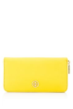TORY BURCH Robinson Multi Gusset Zip Continental Wallet   REEBONZ THAILAND saved by #ShoppingIS