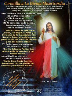 Coronilla de la Divina Misericordia .....