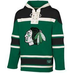 Blackhawks Hockey St. Patrick s Day Green McNary Lace Hoodie Blackhawks  Hockey f120e051f