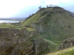 Battle of Wakefield |1460 | Sandal Castle Motte and bailey construction.  Last home of Richard Duke of York Plantagenet, husband of  Cecily Neville.  He left this spot to defend his men at Wakefield, with his brother in law, Richard, Earl of Salisbury and his son, Edmund, Earl of Rutland.  All three were murdered by Lancastrians.  Dec 1460.  Battle of Wakefield, England