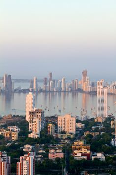 Cartagena from La Popa Convent, Colombia by Jane Sweeney