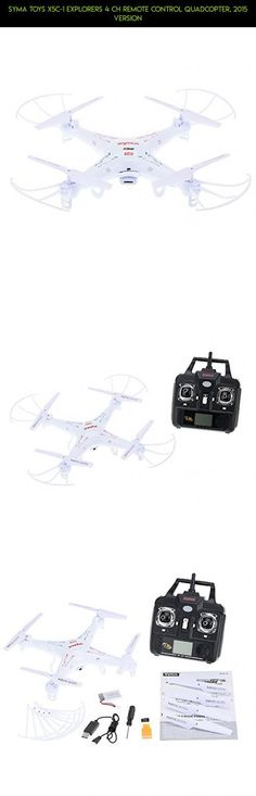Syma Toys X5C-1 Explorers 4 CH Remote Control Quadcopter, 2015 Version #shopping #plans #syma #fpv #gadgets #5xc #kit #technology #racing #drone #tech #products #parts #camera