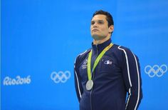 Florent Manaudou en argent sur le 50m nage libre aux Jo de Rio 2016