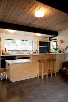 Jonya & Brad's Modern A–Frame — House Tour   Apartment Therapy