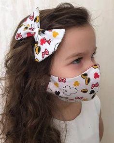 Mouth Mask Fashion, Fashion Face Mask, Easy Face Masks, Diy Face Mask, Diy Clothes Bag, Sewing Paterns, Rave Mask, Bookmarks Kids, Baby Dress Patterns