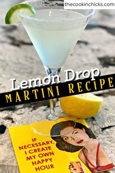 This Tasty Lemon Drop Martini is a vodka based cocktail that has a lemony, sweet and sour flavor! The perfect cocktail to enjoy any night of the week! Martini Recipes, Drink Recipes, Vodka Based Cocktails, Lemon Drop Martini, Lemon Bread, I Have Forgotten, Lemon Sugar, Triple Sec, 2000 Calorie Diet