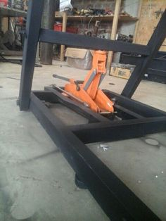 Diy Motorcycle Lift New Lift Table Already Finish Motorcycle Lift Table Of Diy Motorcycle Lift Lovely Homemade Cheap Motorcycle assembly Table Step Iges Cad Garage Tools, Garage Shop, Garage Workshop, Motorcycle Lift Table, Bike Lift, Homemade Tools, Diy Tools, Welding Projects, Woodworking Projects