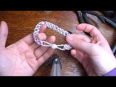 How to make Beaded Bracelet - YouTube