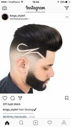 58 Ideas for haircut men undercut hipsters Undercut Hairstyles, Boy Hairstyles, Men Undercut, Fade Haircut, Haircut Men, Medium Hair Cuts, Short Hair Cuts, Hair Designs For Boys, Trendy Mens Haircuts