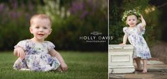 Cake smash, floral crown baby, purple and teal baby session, one year old photography, first birthday pictures, Holly Davis Photography   The Woodlands, Texas