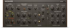 Komplete : Synths : Monark | Products