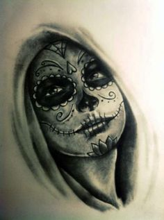 40+ Day of the Dead Tattoo Designs