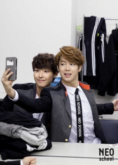 Inseong y Dawon Lee Jae Yoon, Lee Sung, Click Your Heart, Neoz School, Chani Sf9, Young Kim, Sf 9, Fandom, E Dawn