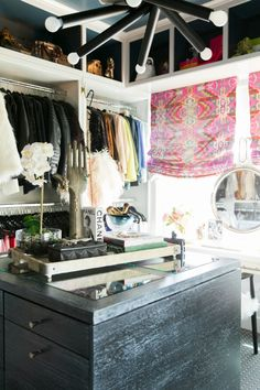 Little Green Notebook: Why Don't You...Ceruse - a follow up! Armoire Dressing, Dressing Room Closet, Dressing Rooms, Dressing Table, Bedroom Turned Closet, Walk In Closet, Master Closet, Master Bedroom, White Closet