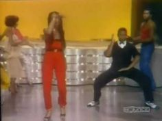 Soul Train line dance - Dont Stop 'Til You Get Enough, Michael Jackson.... 2:00 = me and my husband LOL