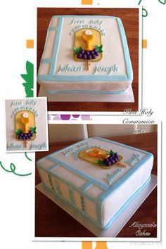 A cake book for first holy communion