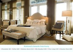 Pin this image at MyKirklands.com for a chance to win a weekly prize pack! #beautifulbedrooms