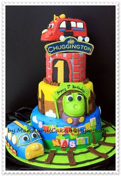 Like This Chuggington Cake Chuggington Party Pinterest - Chuggington birthday cake
