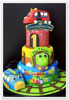 chuggington awesome cake