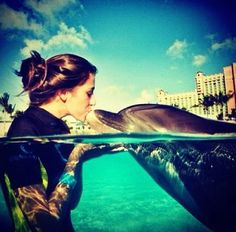 Can't forget swimming with dolphins :) apparently you can do this in Cancun?