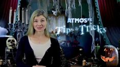AtmosFX Tips & Tricks #2 - Holographic Illusions Modern Halloween, Pirate Halloween, Halloween 2015, Halloween Party Costumes, Halloween House, Scary Halloween, Halloween Crafts, Happy Halloween, Halloween Lighting