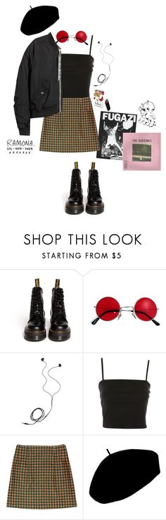 """Untitled #42"" by theartistofeden ❤ liked on Polyvore featuring Dr. Martens, Diane Von Furstenberg, Topshop, Betmar and H&M"