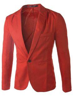 Slim Fit Tailored Collar One Button Man Dress Blazer 9608. Chaqueta  HombreRopa De HombreCapuchaHombres VintageAzul MarinoMangas LargasLargosTallas  Grandes ... 10befb017f42