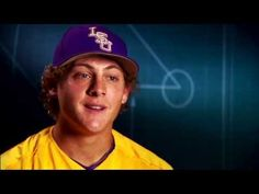 #CWS Spotlight: #LSU's Home Run Juice. Tiger first baseman Mason Katz believes in his dad's homemade concoction. The rest of the Tigers are not so sure. :) // Hilarious