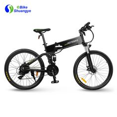 Classic folding mountain ebike desing with hidden battery, motor, speed, front & rear suspension and a LED front light. There are a lot of spec to you choose depen on your needs. Fold Mountain, Mountain Bike Frames, Electric Mountain Bike, Mountain Biking, Folding Electric Bike, Electric Bicycle, Electric Motor, Bike Folding