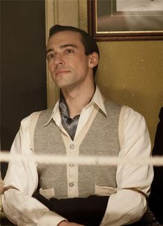 Blake Ritson as the Duke of Kent in Upstairs Downstairs