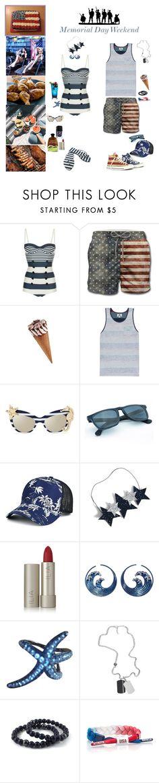 """Weekend Wanders"" by blackmagicmomma ❤ liked on Polyvore featuring Dolce&Gabbana, MC2, Converse, Vissla, Warehouse, Ilia, APM Monaco, Diesel and Rastaclat"