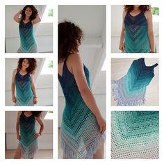 Ravelry: Sea Breeze Cover Up pattern by By Katerina #crochet #crochetpattern #ravelry