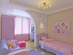 Pink and puRple. .room