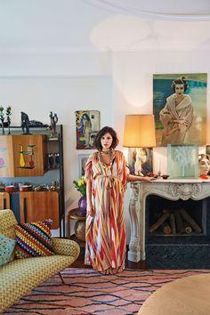 Margherita Missoni Vogue August Issue - A Zigzag Life (Vogue.com UK)
